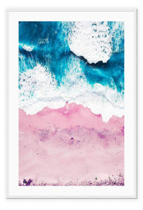 ITALIAN LUXURY GROUP Print Small		50x70cm / White Pink Sand Brand