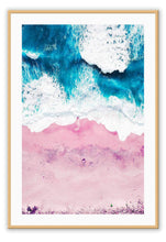 Load image into Gallery viewer, ITALIAN LUXURY GROUP Print Small		50x70cm / Oak Pink Sand Brand