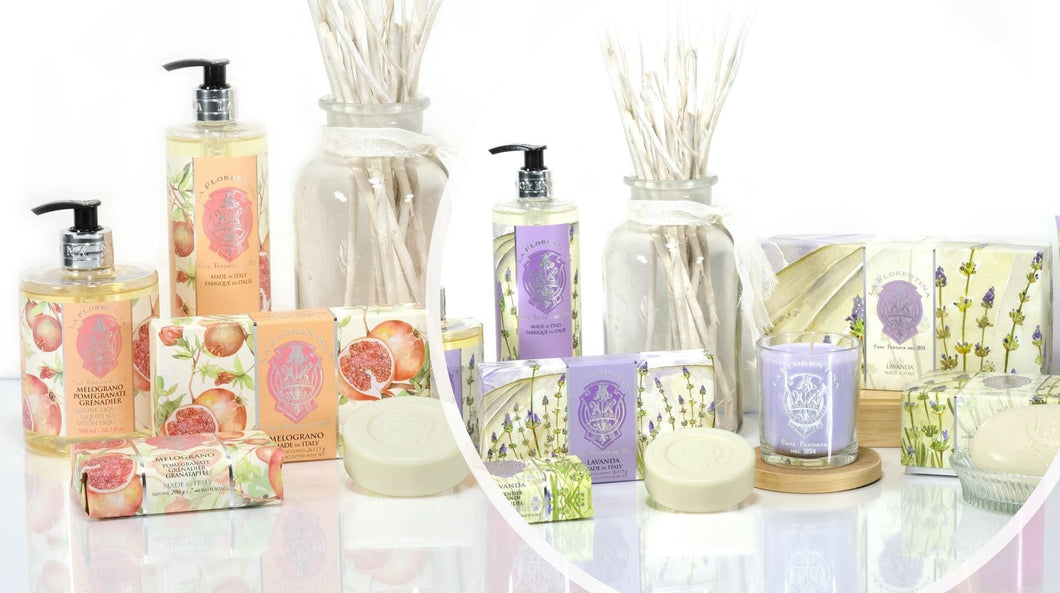 Pomegranate and Lavender Family Package - italianluxurygroup.com.au