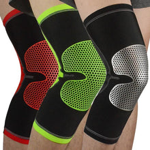 Load image into Gallery viewer, 3D Weave Pressurization Knee Brace Basketball Tennis Hiking Cycling Knee Support Professional Protective Sports Knee Pad
