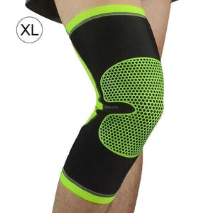 3D Weave Pressurization Knee Brace Basketball Tennis Hiking Cycling Knee Support Professional Protective Sports Knee Pad