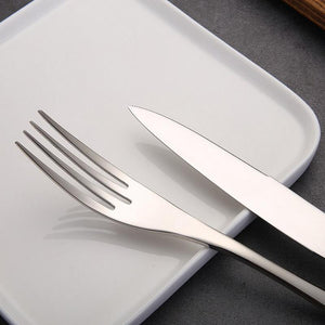 Rapsody Cutlery Set Knife Scoops Forks Gold Cutlery - italianluxurygroup.com.au