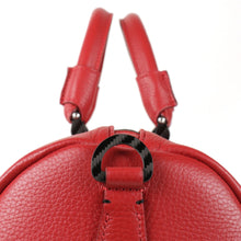 Load image into Gallery viewer, Tecknomonster Bolina Leather Bag Red Colour - italianluxurygroup.com.au