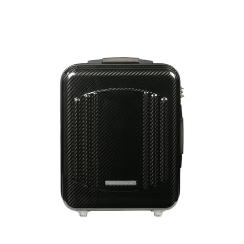Tecknomonster Elfodue Small Cabin Trolley Matt Black - italianluxurygroup.com.au