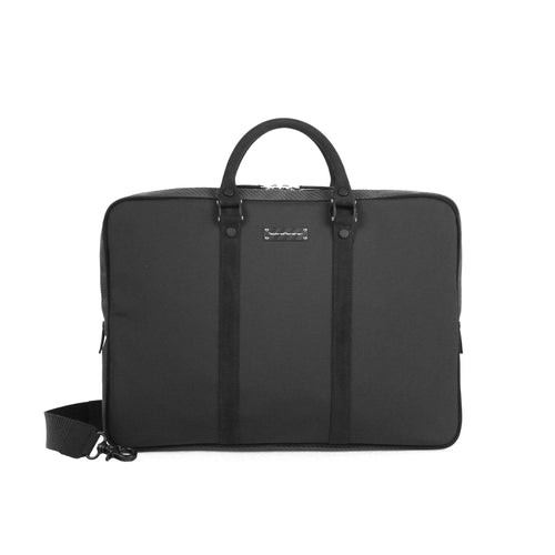 Tecknomonster Stinna Briefcase Bag Soft Carbon Fiber - italianluxurygroup.com.au