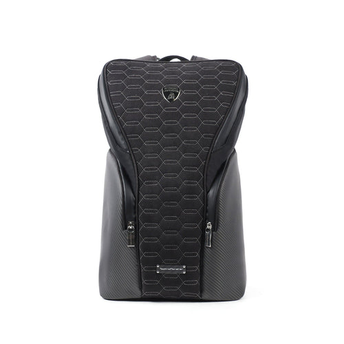Tecknomonster Zangolo Lamborghini Backpack Black Colour - italianluxurygroup.com.au