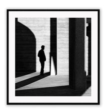 Load image into Gallery viewer, ITALIAN LUXURY GROUP Print Small		50x50cm / Black Uomo shadow Brand