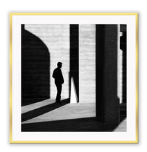 Load image into Gallery viewer, ITALIAN LUXURY GROUP Print Small		50x50cm / Gold Uomo shadow Brand