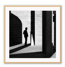Load image into Gallery viewer, ITALIAN LUXURY GROUP Print Small		50x50cm / Oak Uomo shadow Brand