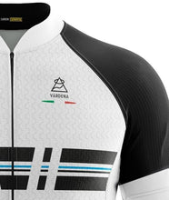 Load image into Gallery viewer, Vardena Cut Line White Cycling Jersey - italianluxurygroup.com.au