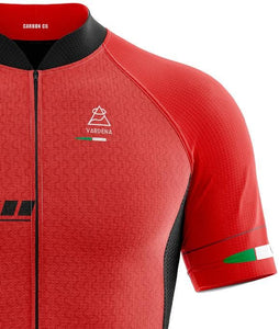 Vardena F1 Red Cycling Jersey - italianluxurygroup.com.au