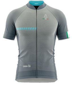 Vardena Silver Blue Cycling Jersey - italianluxurygroup.com.au