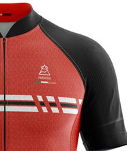 Load image into Gallery viewer, Vardena Super Line Red Cycling Jersey - italianluxurygroup.com.au
