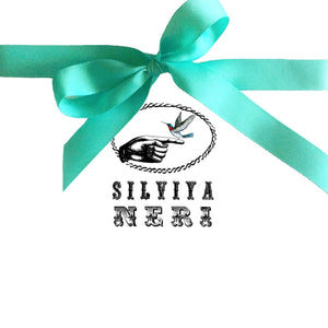 Via Con Dios Silk Scarf By Silviya Neri - italianluxurygroup.com.au