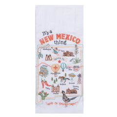 NM - New Mexico Tea Towel