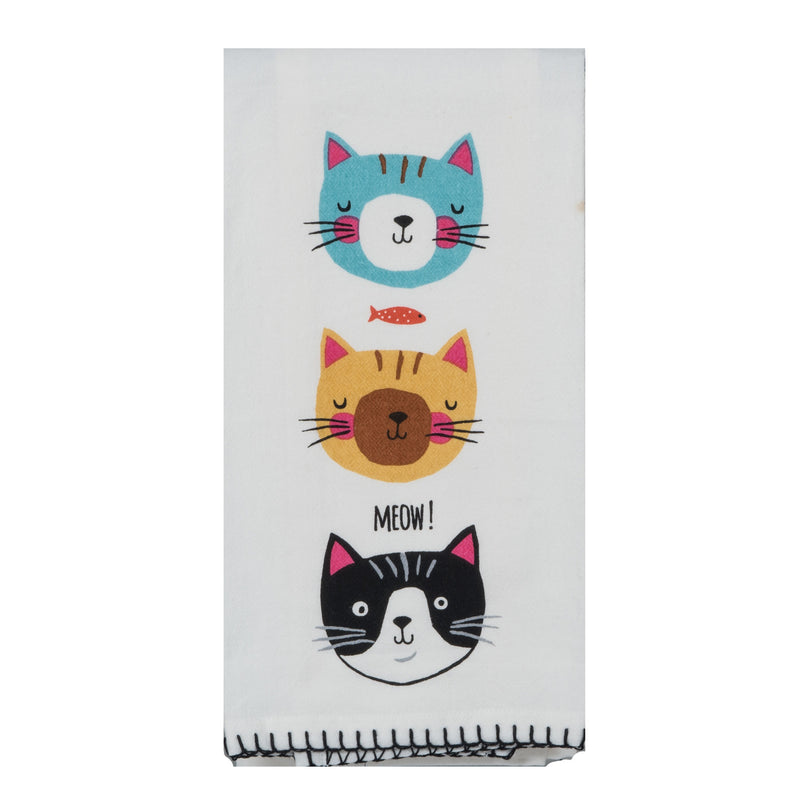 Cat - Meow Tea Towel
