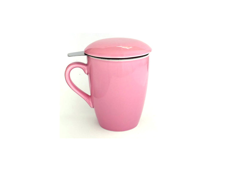 Teacup and Infuser Set - Pink