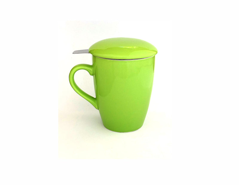Teacup and Infuser Set - Green