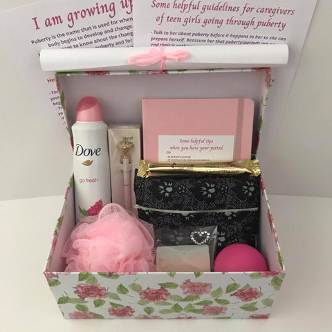 Puberty Pamper Gift Boxes