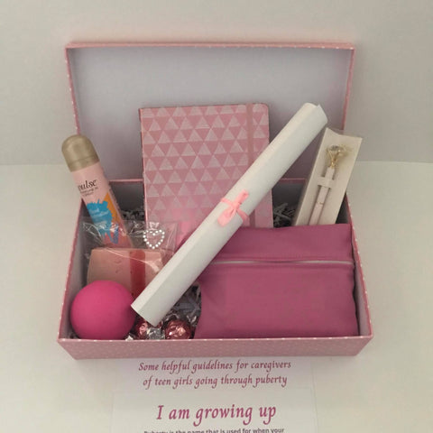 Puberty Care Package Gift Box