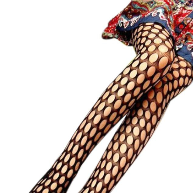 Sexy Fishnet Pattern Jacquard Stockings Pantyhose