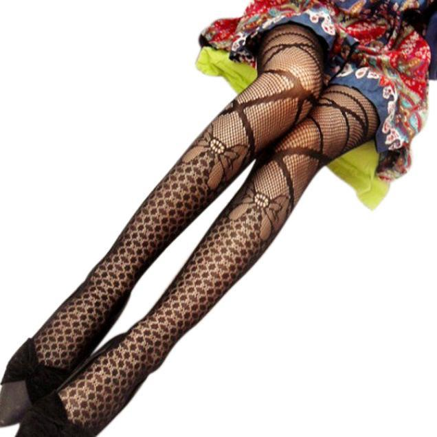 Fishnet Fun Stockings