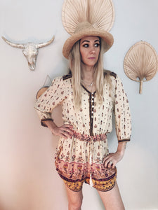 Spell and the Gypsy Collective Vintage Desert Wanderer playsuit 10