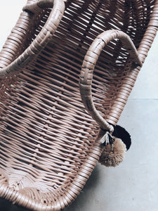Jane large willow wicker basket