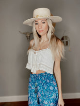 Load image into Gallery viewer, Boho skirt navy