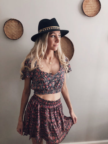 Spell & the Gypsy Collective Jasmine Cropped Top XS but 8/10 Vintage