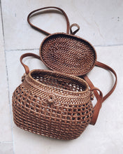 "Load image into Gallery viewer, ""Surya"" Bali Basket Bag"