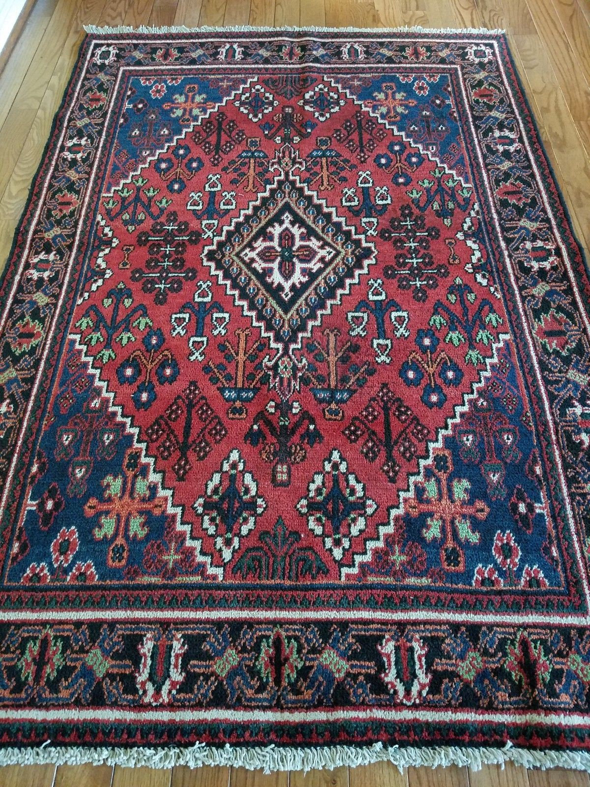 4 4 X 5 5 Vintage Quality Josheghan Persian Rug Decorative