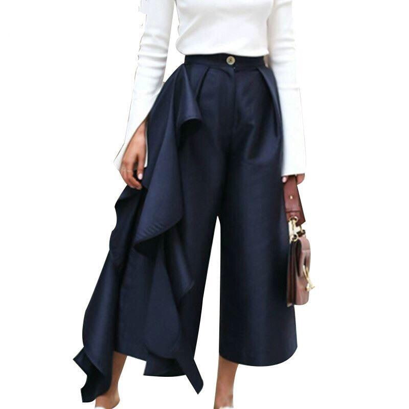 COOFFLE HIGH WAIT WIDE PANTS