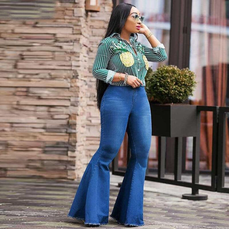 PAMMY HIGH WAIST WIDE LEG JEANS
