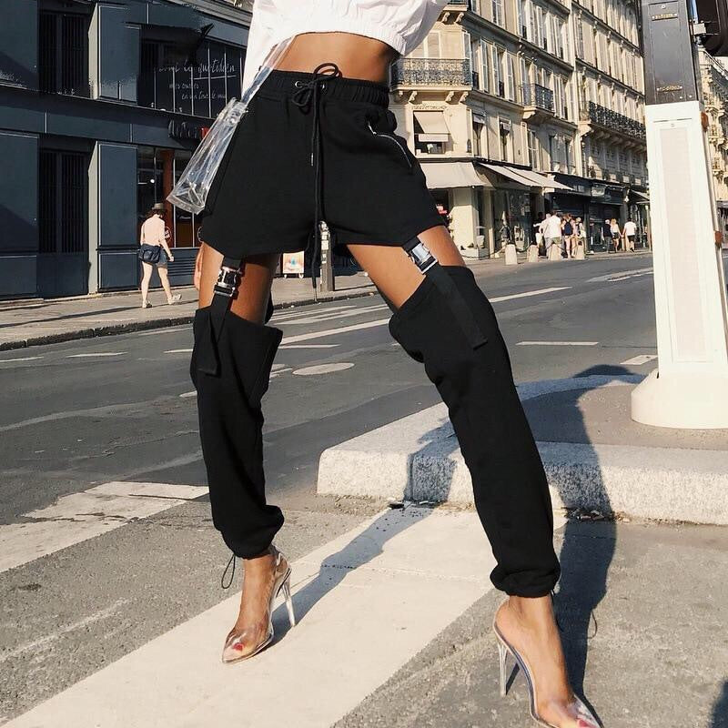 ALEXANDRA HIGH WAIST PANTS