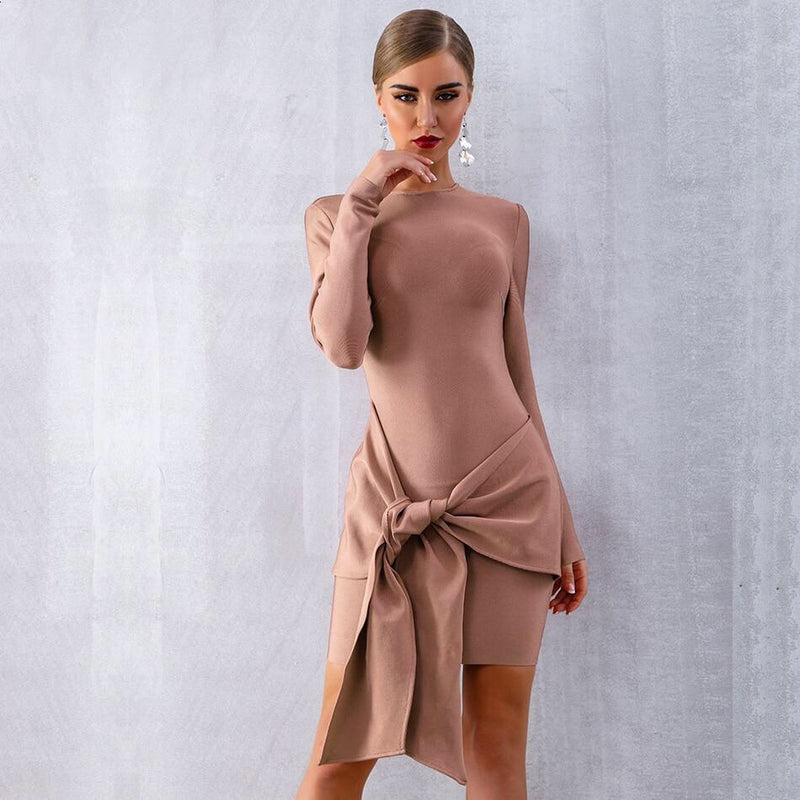 PAMMY LONG SLEEVE PARTY DRESS