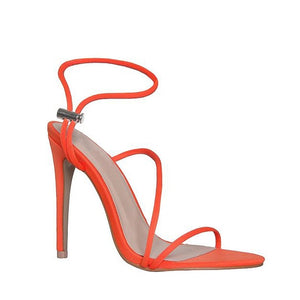 CAMILA  ANKLE CROSS-TIE SANDALS