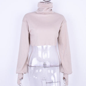 NICY LONG SLEEVE TURTLENECK