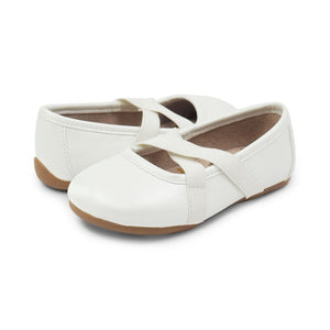Livie & Luca  Children's Shoes Aurora White Pearl