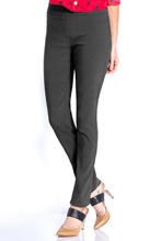 Load image into Gallery viewer, Charcoal Slim-sation Pants