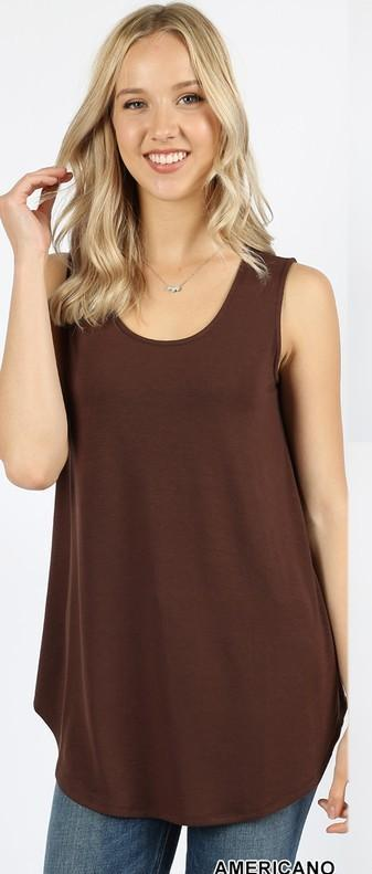 Perfect Tank with Relaxed Fit.