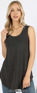 Relaxed Tank by Zenana