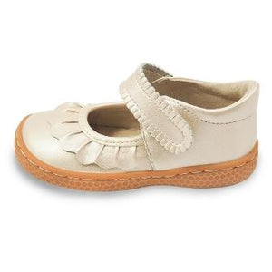 Livie and Luca Children's Shoes  Ruche  Champagne Color