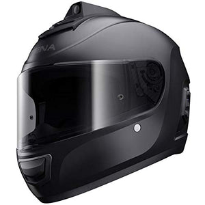 Sena Momentum INC Pro Bluetooth w/Integrated QHD Camera Helmet - Matte Black - XL