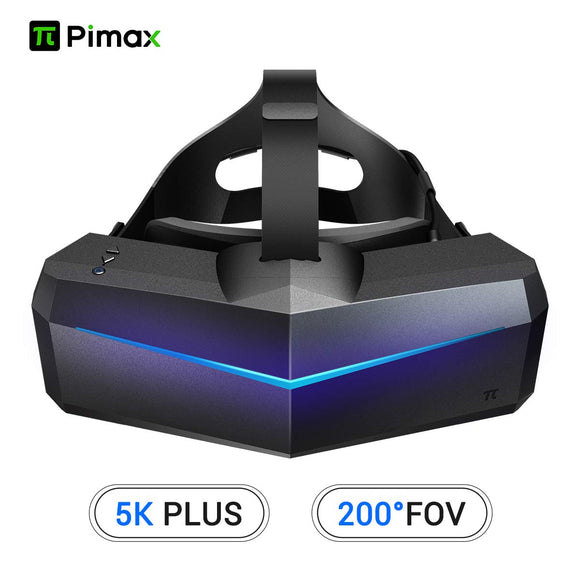 Pimax 5K Plus VR Virtual Reality Headset with Wide 200°FOV