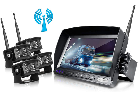 ZEROXCLUB Wireless Rear View Camera Kit