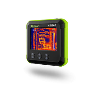 Pocket-Sized IR Thermal Imager, Huepar 80 x 60 Infrared Resolution Thermal Imaging Camera Measurement Range 14°F~752°F with 76800 Pixels Display, Temperature Tracking & Adjustable Emissivity HTi80P