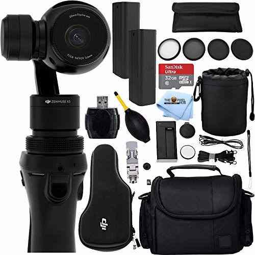 Cámara Dji Osmo Handheld 4k Y 3-axis Gimbal 12pc Kit
