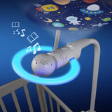 Motorola Halo+ Over-The-Crib Baby Monitor & Soother with HD Wi-Fi Camera & Parent Unit