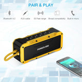 Poweradd MusicFly Indoor/Outdoor Portable Wireless Bluetooth Speakers